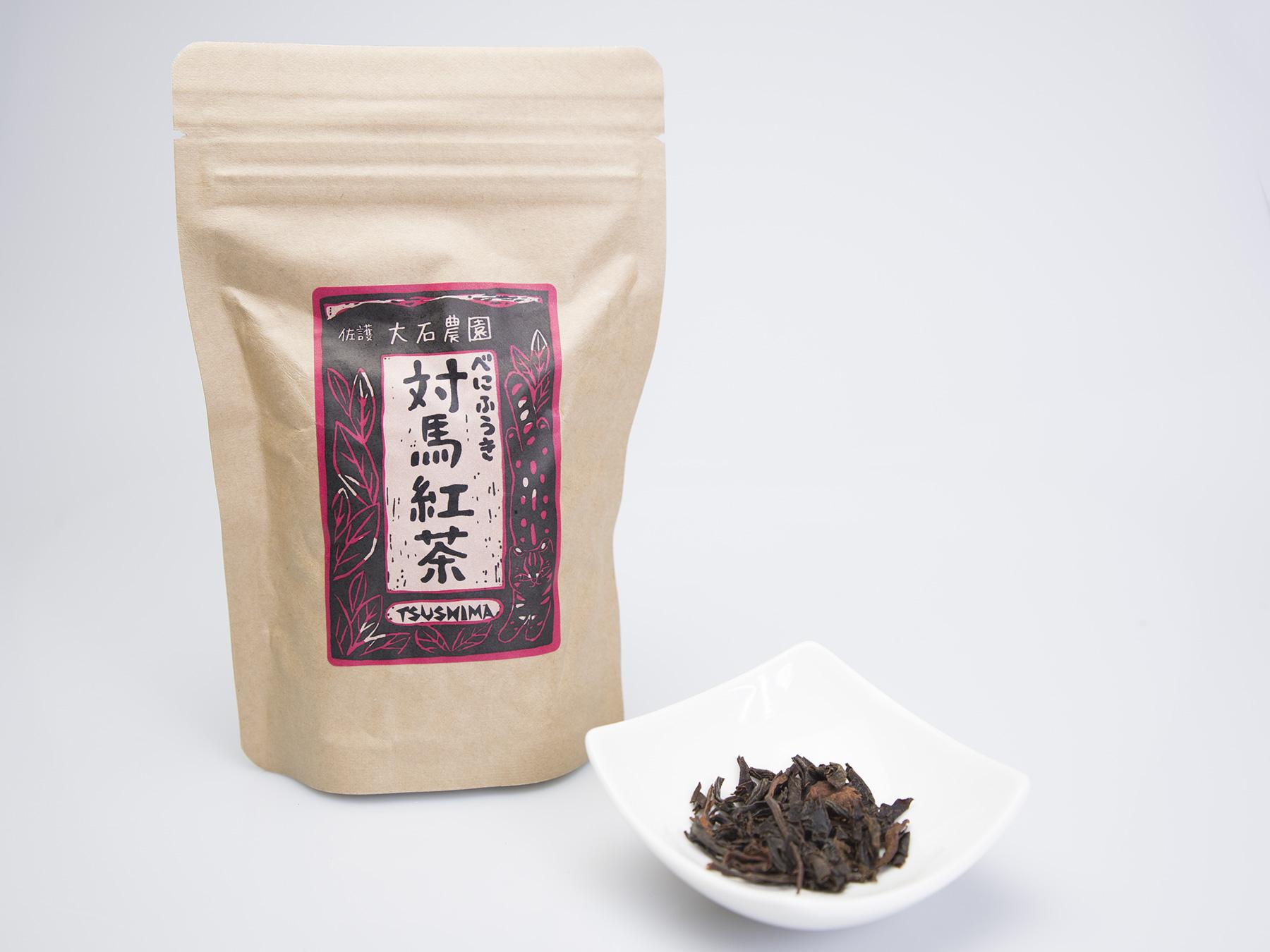 対馬紅茶リーフ