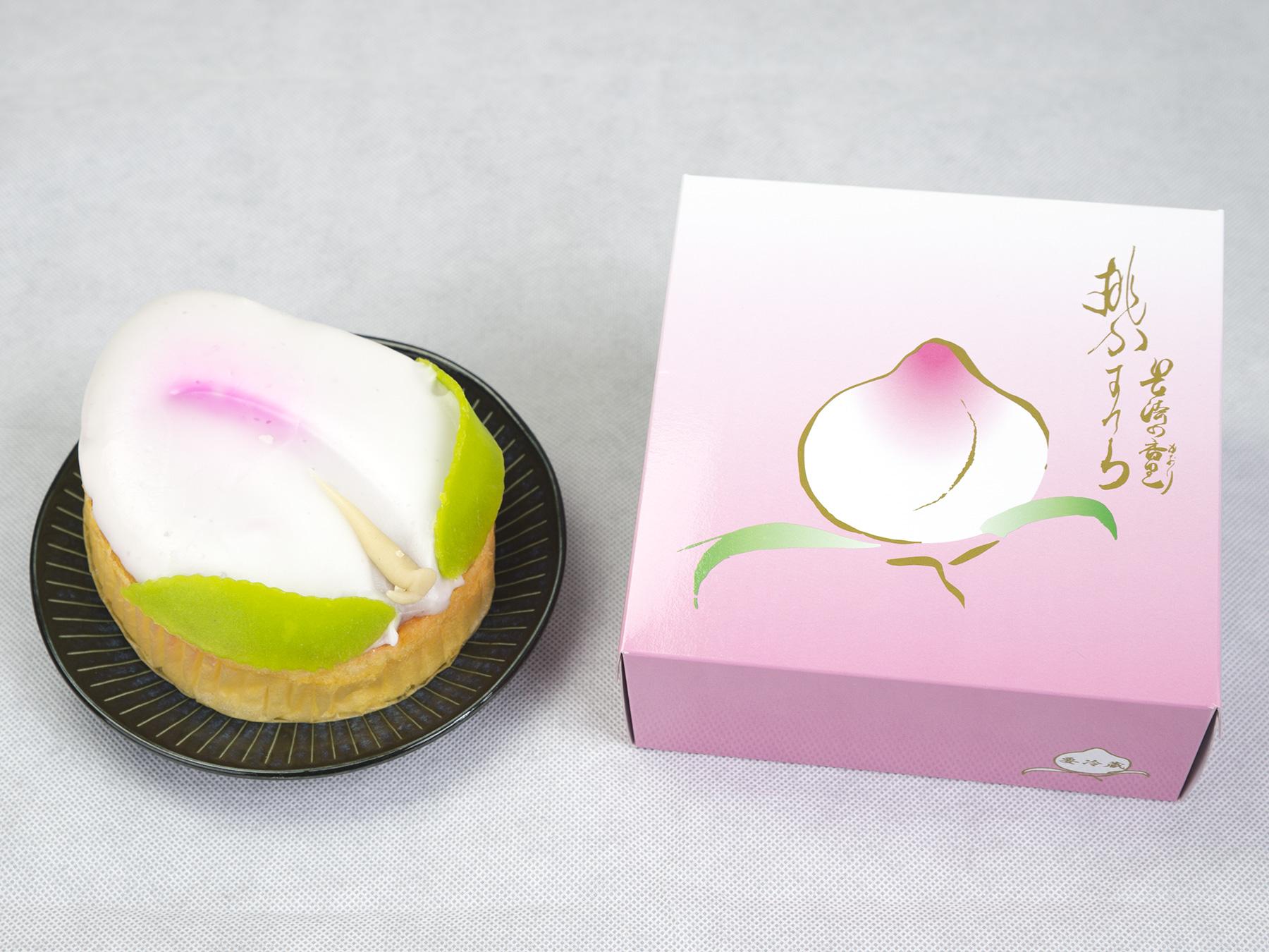 桃カステラ